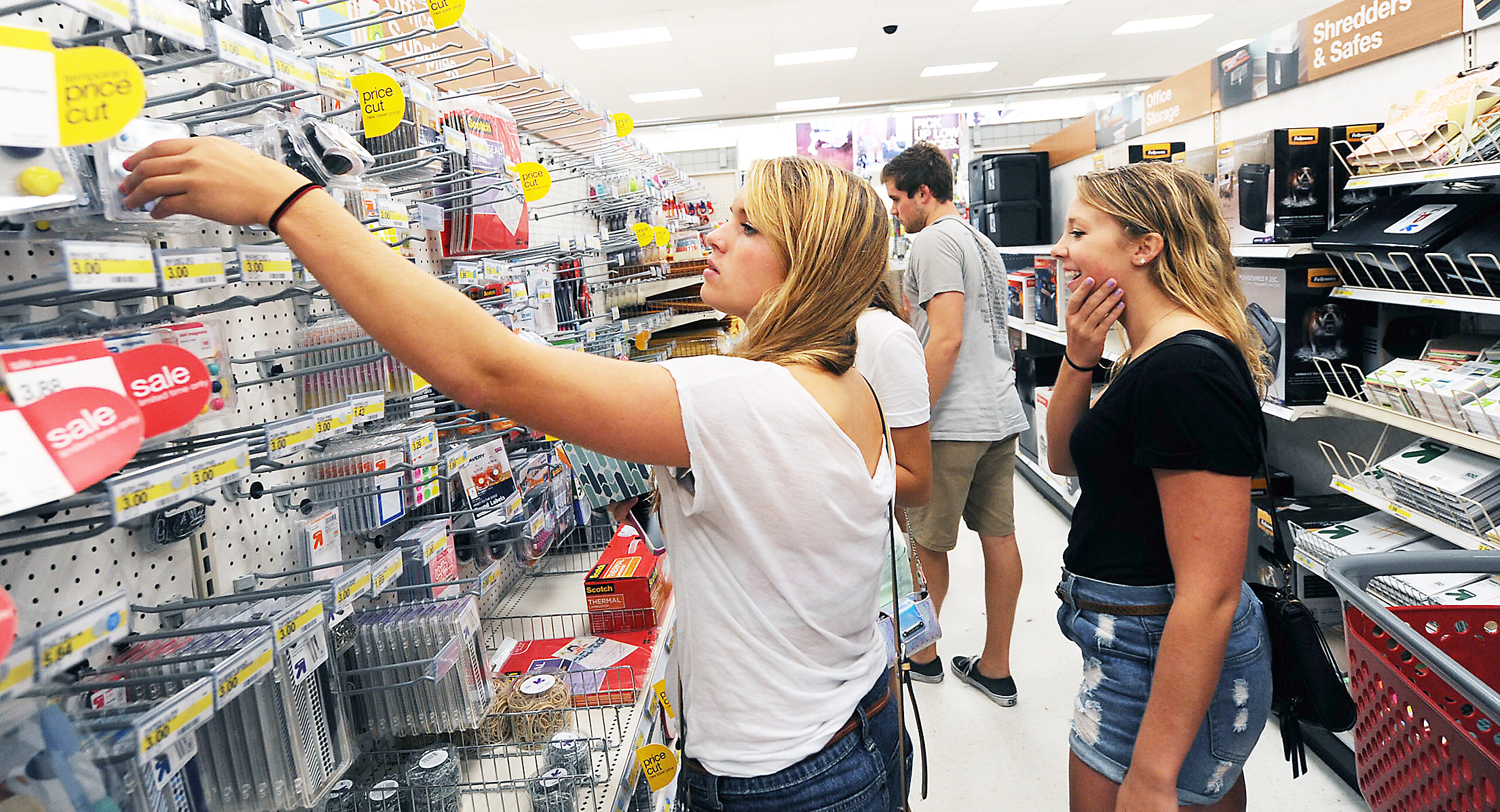 Image result for college students shopping