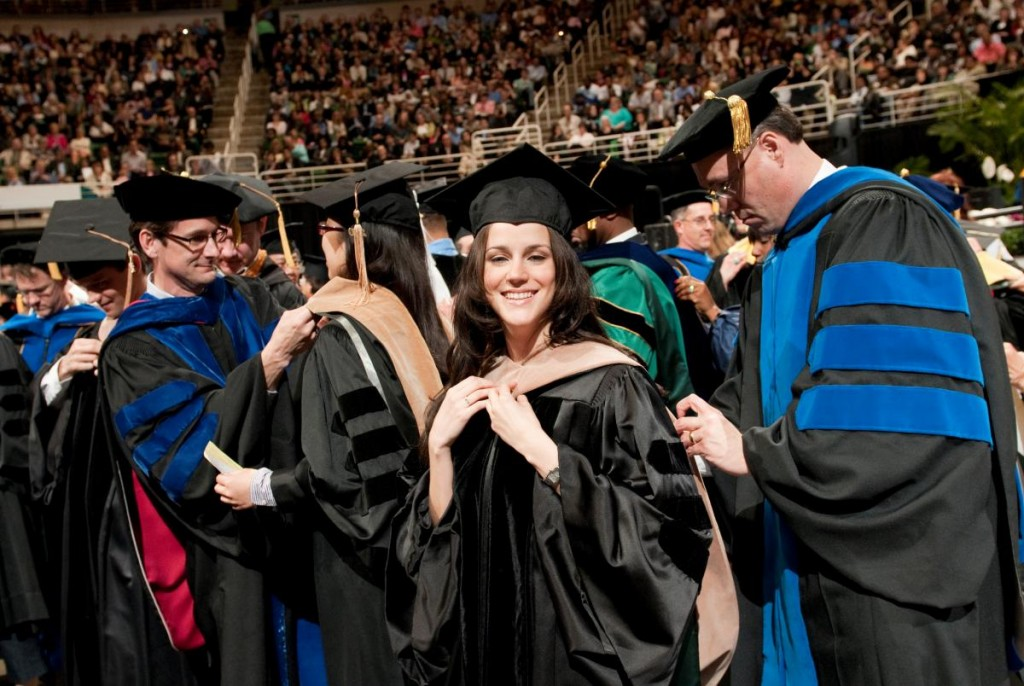 Graduation apparel don't come cheap. Here are factors to help you stay on budget. | Image source: MSU.edu